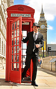 TOMMY DAVIDSON MODELS JEFF BANKS CLOTHES FOR MYER IN LONDON- WESTMINSTER. JEFF BANKS TRAFALGER SQUARE<br /> PIC JAYNE RUSSELL 03.09.10