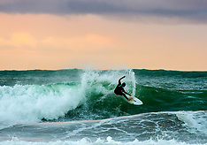 Northland-Surfers at Sandy Bay make most of Cyclone Cook