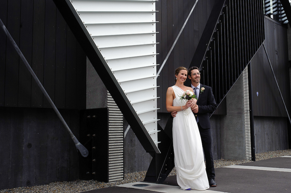 Megan and Chris had their wedding on Friday February 3, 2012 at The Boatshed, Frank Kits Lagoon on Wellington's waterfront...Photo by Mark Tantrum | www.marktantrum.com