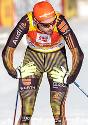 29.01.2017, Casino Arena, Seefeld, AUT, FIS Weltcup Nordische Kombination, Seefeld Triple, Langlauf, im Bild Johannes Rydzek (GER, 2. Platz) // 2nd placed Johannes Rydzek of Germany reacts after Cross Country Gundersen Race of the FIS Nordic Combined World Cup Seefeld Triple at the Casino Arena in Seefeld, Austria on 2017/01/29. EXPA Pictures © 2017, PhotoCredit: EXPA/ JFK