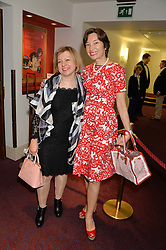 Victoria Grigorieva and patron of Russian Arts Natasha Tsukanova (Tsukanov Family Foundation) at the Russian Ballet Icons Gala at The London Coliseum, 33-35 St.Martin's Lane, London on 9th March 2014.