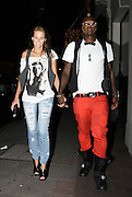 01.JULY.2009 - LONDON<br /> <br /> DJIBRIL CISSE WALKING THROUGH MAYFAIR WITH HIS WIFE JUDE LITTLER.<br /> <br /> BYLINE: EDBIMAGEARCHIVE.COM<br /> <br /> *THIS IMAGE IS STRICTLY FOR UK NEWSPAPERS &amp; MAGAZINES ONLY*<br /> *FOR WORLDWIDE SALES &amp; WEB USE PLEASE CONTACT EDBIMAGEARCHIVE - 0208 954 5968*