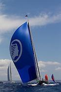 SPAIN, Palma. 22nd June 2013. Superyacht Cup. Atalante, 90ft/(27.5m), designed by Hoek Design, built by Claasen Jachtbouw.