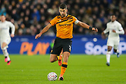 Hull City defender Eric Lichaj (2) during The FA Cup match between Hull City and Chelsea at the KCOM Stadium, Kingston upon Hull, England on 25 January 2020.