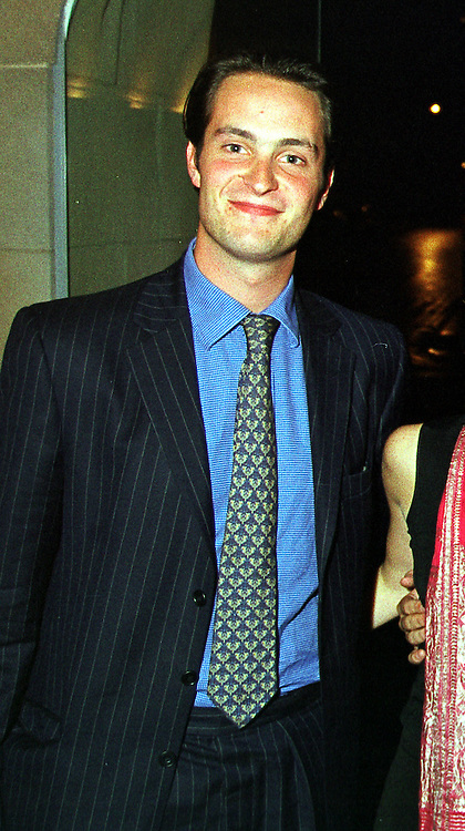 The HON.EDWARD TOLLEMACHE heir to Lord Tollemache, at a party in London on 14th September 1999.MWI 21 MOLO