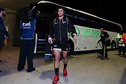 Nehe Milner-Skudder arrives at GIO stadium for the Super Rugby match, Brumbies V Hurricanes, GIO Stadium, Canberra, Australia, 30th June 2018.Copyright photo: David Neilson / www.photosport.nz