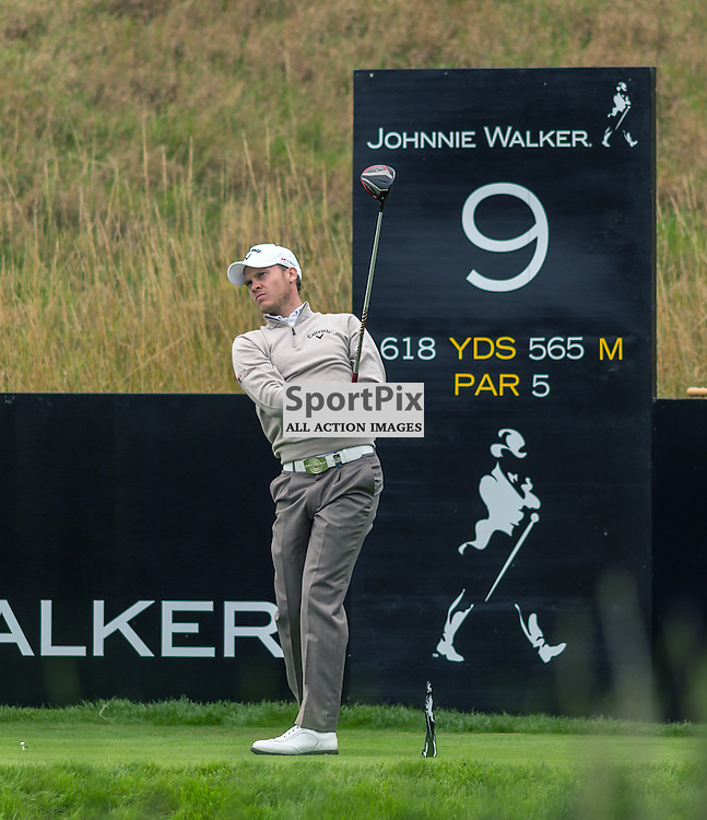 Danny Willett tees off at the 9th hole at the Johnny Walker Championship (c) ROSS EAGLESHAM | Sportpix.eu
