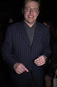 Suggs. Hackney Empire Centenary Cabaret Celebration. 10 March 2001. © Copyright Photograph by Dafydd Jones 66 Stockwell Park Rd. London SW9 0DA Tel 020 7733 0108 www.dafjones.com