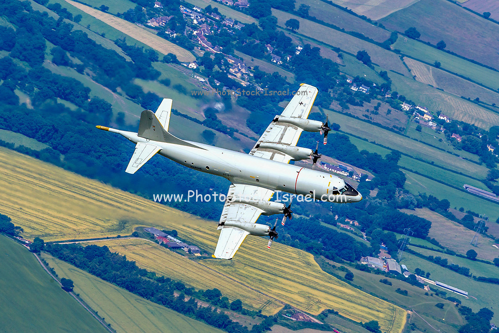 German Navy, Lockheed P-3 Orion, a four-engine turboprop anti-submarine and maritime surveillance aircraft developed for the United States Navy and introduced in the 1960s.