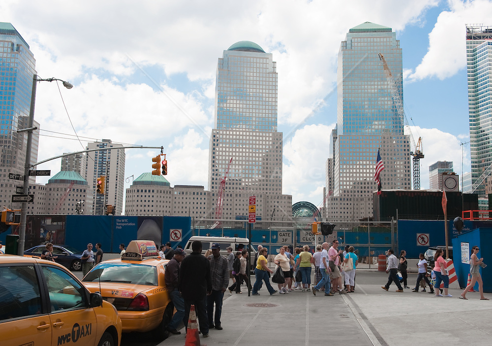 World Trade Center Site in New York City, 2009