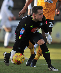 LUKE McCORMICK GOALKEEPER  PLYMOUTH ARGYLE   Cambridge United v Plymouth Argyle, Sky Bet League Two Abbey Stadium, Saturday 4th February 2017. <br /> Score 0-1 (SARCEVIC)