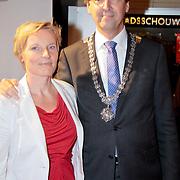 NLD/Utrecht/20110921 - NFF 2011- Premiere De Bende van Oss, Aleid Wolfsen en partner .....