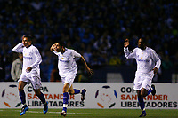20090702: BELO HORIZONTE, BRAZIL - Gremio vs Cruzeiro: Copa Libertadores 2009 - Semi Finals - 2nd Leg. In picture: Wellington Paulista (Cruzeiro, L) celebrating goal with team mates. PHOTO: CITYFILES