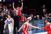 Esultanza panchina Armani Milano, EA7 EMPORIO ARMANI OLIMPIA MILANO vs RED OCTOBER CANTU', gara 2 Quarti di Finale Play off Lega Basket Serie A 2017/2018, Mediolanum Forum Assago (MI) 14 maggio 2018 - FOTO: Bertani/Ciamillo