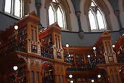 Interiors of the Parliamentary Library of Canada in Ottawa, Ontario, Canada on February 22, 2009.