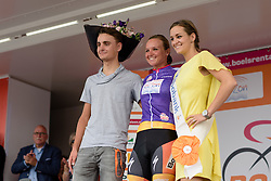 Chantal Blaak (Boels Dolmans) leads the combined classification at the 116 km Stage 5 of the Boels Ladies Tour 2016 on 3rd September 2016 in Tiel, Netherlands. (Photo by Sean Robinson/Velofocus).