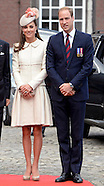 KATE, Will & Euro Royals Commemorate WWl Anniversary in Liege