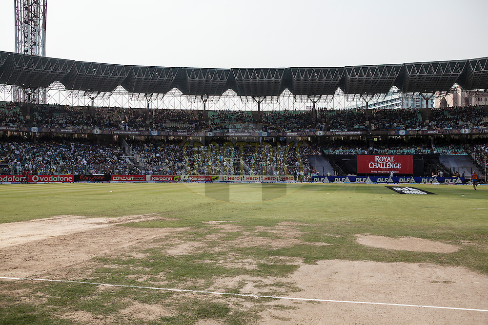 360 degree view of stadium during match 47 of the the Indian Premier League ( IPL) 2012  between The Kolkata Knight Riders and The Pune Warriors India held at the Eden Gardens Stadium in Kolkata on the 5th Mayl2012..Photo by Saikat Das/IPL/SPORTZPICS