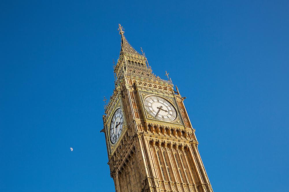 Big Ben at Westminster, London, United Kingdom