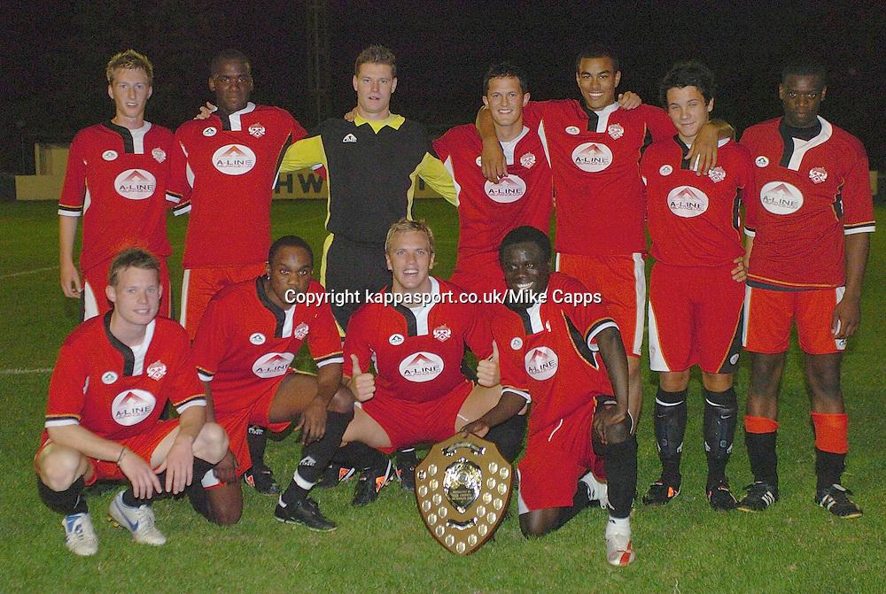 KetteringTown  Winners of Newlands Trophy 2007, Rothwell Town-Kettering Town, Newlands Trophy Cecil Street, 2007/08, 7/8/2007