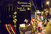 Paris Attacks: Candlelight Vigil Held  in Madrid In Support Of Victims