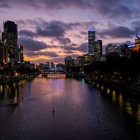 Melbourne is the second most populous city in Australia and Oceania.  It is the capital city in the Australian state of Victoria.