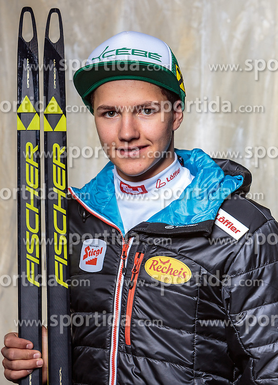08.10.2016, Olympia Eisstadion, Innsbruck, AUT, OeSV Einkleidung Winterkollektion, Portraits 2016, im Bild Florian Dagn, Nordische Kombination, Herren // during the Outfitting of the Ski Austria Winter Collection and official Portrait Photoshooting at the Olympia Eisstadion in Innsbruck, Austria on 2016/10/08. EXPA Pictures © 2016, PhotoCredit: EXPA/ JFK