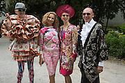 ANDRE BARTENEV;  SVETLANA EMELKINA; AMALIA MORDVINOVA; IGOR IGNATENKO, Venice Biennale, Venice. 6 May 2015