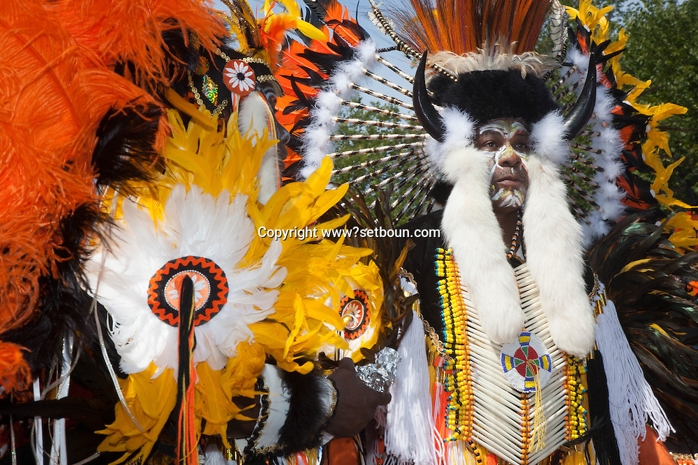 New York. parade in Brooklyn. the West Indian American Day Parade & Carnival in Brooklyn,  new york ,  the city's biggest parade, celebrates its 41st anniversary / Brooklyn , New york ,  41 em parade  des africains de l ouest et des caraibes