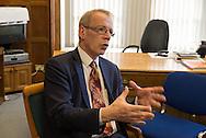 David Green (Labour) is Bradford council leader. / David Green est le leader du parti Labour au conseil municipal de Bradford.