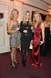 Left to right, HOLLY DUNLAP, PENNY BEER and LILIJA SITNIKA at The Backstage Gala hosted by Diana Vishneva , Principal Dancer of the Mariinsky and American Ballet Theatre, and Natalia Vodianova in aid of The Naked Heart Foundation held at The London Coliseum, St.Martin's Lane, London on 17th April 2015.