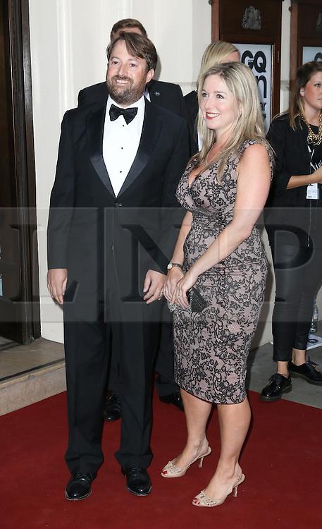 David Mitchell; Victoria Coren, GQ Men of the Year Awards, Royal Opera House, London UK, 03 September 2013, (Photo by Richard Goldschmidt)
