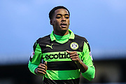 Forest Green Rovers Reece Brown(10) during the EFL Sky Bet League 2 match between Forest Green Rovers and Port Vale at the New Lawn, Forest Green, United Kingdom on 6 January 2018. Photo by Shane Healey.