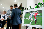 Photo exhibition by Adam Nurkiewicz during the 12th Special Olympics Football Conference 2014 at Novotel Hotel in Warsaw on April 11, 2014.<br /> <br /> Poland, Warsaw, April 11, 2014<br /> <br /> Picture also available in RAW (NEF) or TIFF format on special request.<br /> <br /> For editorial use only. Any commercial or promotional use requires permission.<br /> <br /> Mandatory credit:<br /> Photo by © Adam Nurkiewicz / Mediasport