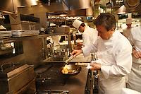 In the kitchens of Restaurant Daniel, of Chef Daniel Boulud, in New York City