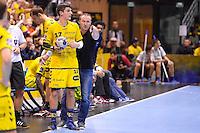 Romain TERNEL / David CHRISTMANN - 17.12.2014 - Tremblay en France / Saint Raphael - 14eme journee de Championnat de France de D1<br /> Photo : Aurelien Meunier / Icon Sport