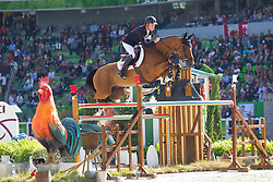 Scott Brash, (GBR), Hello Sanctos - First Round Team Competition Jumping Speed - Alltech FEI World Equestrian Games™ 2014 - Normandy, France.<br /> © Hippo Foto Team - Leanjo De Koster<br /> 03-09-14