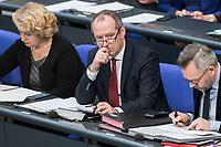 14 FEB 2019, BERLIN/GERMANY:<br /> Olver Wittke, MdB, CDU, Parl. Staatssekretaer im Bundeswirtschaftsministerium, Bundestagsdebatte, Plenum, Deutscher Bundestag<br /> IMAGE: 20190214-01-078<br /> KEYWORDS: Bundestag, Debatte