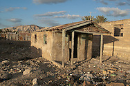 Abandoned home after Hurricane Jeanne in 2004. Gonaïves, Haiti. January 22, 2008.