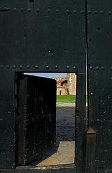 Open Door at Fort Ozama, Santo Domingo