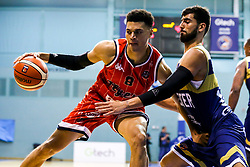 Tevin Falzon of Bristol Flyers - Mandatory by-line: Robbie Stephenson/JMP - 05/10/2018 - BASKETBALL - University of Worcester Arena - Worcester, England - Bristol Flyers v Worcester Wolves - British Basketball League