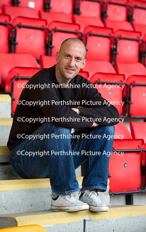 St Johnstone's Paul Sheerin pictured at McDiarmid Park this morning (07.05.10) who will leave the club after tomorrows game against Hamilton. Paul has been with saints for six years.<br /> see story by Gordon Bannerman Tel: 07729 865788<br /> Picture by Graeme Hart.<br /> Copyright Perthshire Picture Agency<br /> Tel: 01738 623350  Mobile: 07990 594431