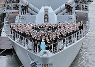 Queen Elizabeth Visits HMS Lancaster