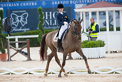 Isabel Giart - Nemo<br /> European Championships Dressage Junior and Young Riders 2014<br /> © DigiShots