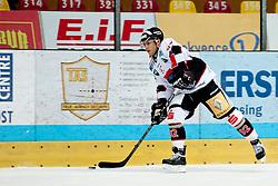 28.09.2013, Zimni Stadion, Zneim, CZE, EBEL, HC Orli Znojmo vs HC TWK Innsbruck, 12. Runde, im Bild Daniel Frischmann (Innsbruck #92) // during the Erste Bank Icehockey League 12th round match betweeen HC Orli Znojmo and HC TWK Innsbruck  at the Zimni Stadium, Znojmo, Czech Republic on 2013/09/28. EXPA Pictures © 2013, PhotoCredit: EXPA/ Rostislav Pfeffer