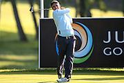 Italian golf professional Edoardo Molinari  during the BMW PGA Championship at the Wentworth Club, Virginia Water, United Kingdom on 26 May 2016. Photo by Simon Davies.