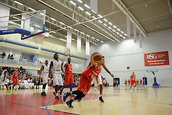 Bristol Flyers' Roy Owen - Photo mandatory by-line: Dougie Allward/JMP - Mobile: 07966 386802 - 28/03/2015 - SPORT - Basketball - Bristol - SGS Wise Campus - Bristol Flyers v London Lions - British Basketball League