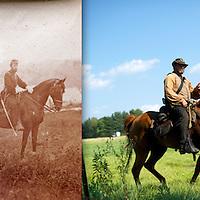 ca. 1861, Harpers Ferry, West Virginia / 2012, Gettysburg, Pennsylvania