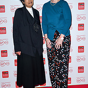 Moira Stuart, Kate Bulkley arrivers at the Broadcasting Press Guild TV & Radio Awards, at Banking Hall, on 13th March 2020, London, UK