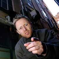Brian Limond, from Limmy's World of Glasgow, a website parodying various Glasgow characters